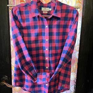 Vineyard Vines 10 relaxed long sleeves button up
